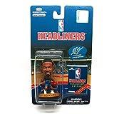 JUWAN HOWARD / WASHINGTON WIZARDS * 3 INCH * 1997 NBA Headliners Basketball Collector Figure