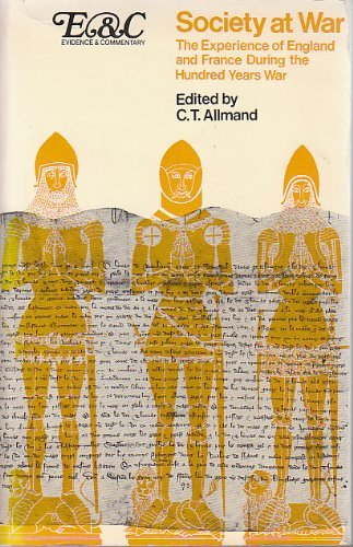 Society at War [Paperback] by C. T Allmand