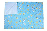 #5: BirthMark Super Premium Baby Double Bed Protector/Mattress Protector High Grade Plastic - Animal Prints (6.5 Feet x 6.5 Feet)