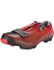 Shimano SHXC7OC420SR00, Zapatillas de Ciclismo de Carretera para Hombre, Rojo (Red),