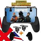 Controller mobile per giochi come PUBG, Fortnite, Rules of survival, Knives out, joystick compatibile con telefoni Android e iPhone, con tasti L1 e R1