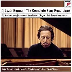 Lazar Berman: The Complete Sony Recordings (Coffret 6 CD)