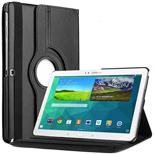 Bingsale 360° Tasche für Tablet Samsung Galaxy Tab 4, Schwarz
