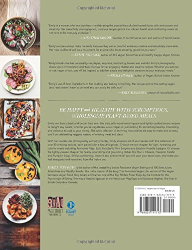 The Rawsome Vegan Cookbook: A Balance of Raw and Lightly-Cooked, Gluten-Free Plant-Based Meals for Healthy Living