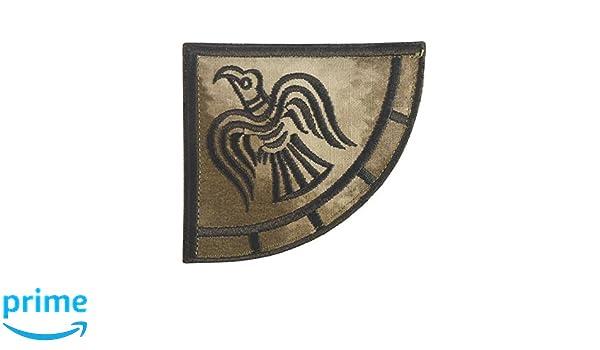 Viking Raven Banner Odin God of War arid A-TACS AU sew iron on patch