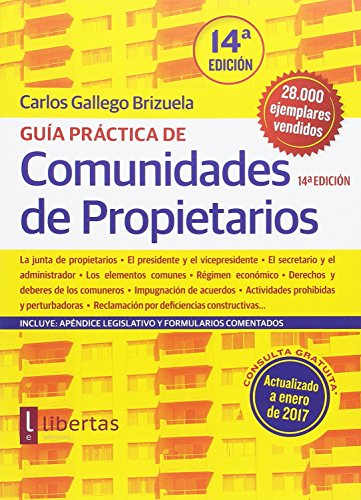 Guía práctica de comunidades de propietarios (14ª ed.)