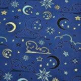 MAGAM-Stoffe Gute Nacht Jersey Stoff Kinderstoff Oeko-Tex
