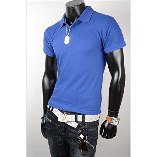 Mela Proibita Herren Poloshirt Blau