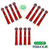 oral-q eb10 a per bambini con testine standard per spazzolino elettrico Braun Oral-B - -4,12pcs (3packs) colore casuale