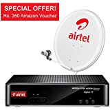 Airtel Hd Dth with My Family Pack and Amazon Voucher
