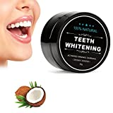 Zahnaufhellung Holzkohle Pulver Alle natürlichen Zahn Aufheller mit Kokosnuss Holzkohle Aktivierte Holzkohle Kokosnuss Zahnaufhellung Natürliche Zähne Aufheller Lösung für gesunde Reiniger Whiter Zähn (60 g)