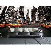Image of 1Wall Decorazione Murale Città di New York con Taxi