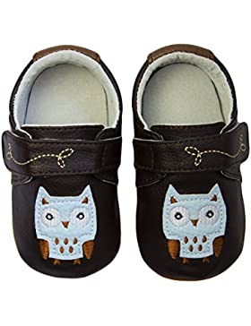 Rose & Chocolat Rcm Night Owl Brown - Zapatos para Bebes Bebé-Niños