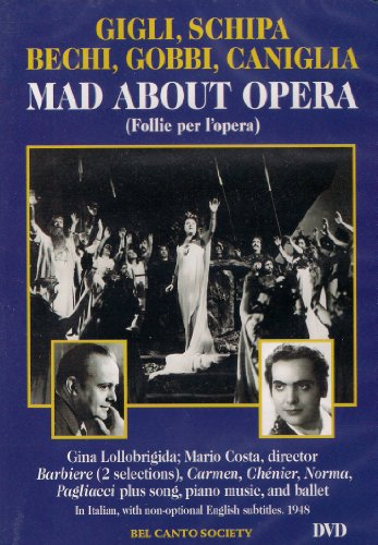 Preisvergleich Produktbild Various Artists - Mad About Opera