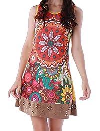 Panasiam Kleid, farbenfrohe Tunika, aus Baumwolle, in S, M, L und XL, kleine Auflage 2017 (Boutiqueware) !