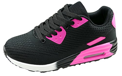 Gibra Sneaker Donna Nero/Rosa