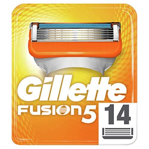 Gillette Fusion5 Rasierklingen für Männer, 14Stück (Rasierer Gillette Fusion)