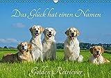 Das Glück hat einen Namen - Golden Retriever (Wandkalender 2019 DIN A3 quer): Eine der wohl schönsten und beliebtesten Hunderassen auf 13 wundervollen ... (Monatskalender, 14 Seiten ) (CALVENDO Tiere)