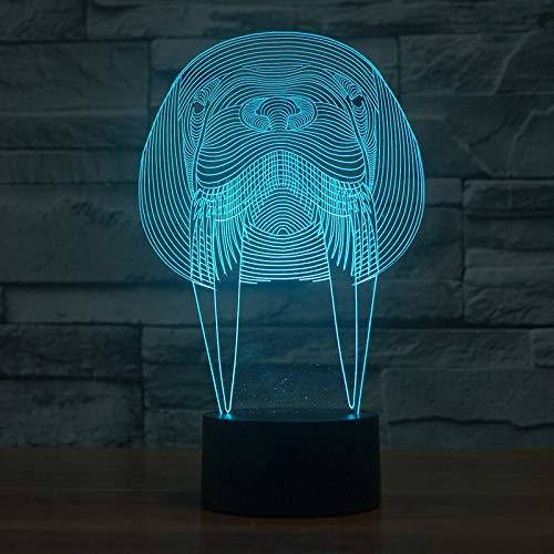 Yangll Creative 3D Led Night Lights Sleeps Lightsaber Warriors Luminarias  USB Junto A La Cama Star Wars Lámpara De Mesa para Niños Regalos Decoración