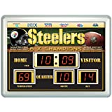 Pittsburgh Steelers Uhr-14ft x19ft Anzeigetafel