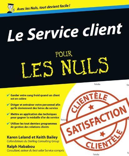 Livres Le Service client pour les nuls pdf, epub ebook