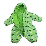 Jacky unisexo buzo de bebé, Outdoor, verde-azul, 80 (12 meses), 382481