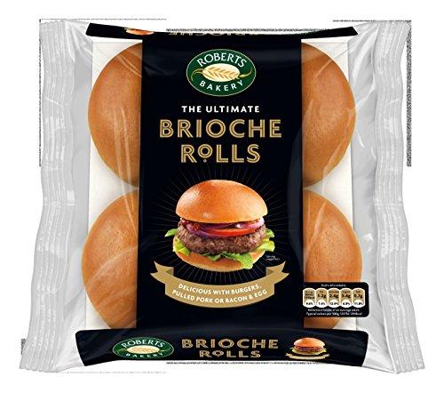 Roberts Bakery Brioche Rolls, 260 g Test