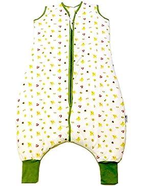 Schlummersack Schlafsack mit Füßen leicht gefüttert in 1.0 Tog - erhältlich in verschiedenen Größen und Designs...