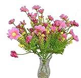 2er Set Blumenstrauß, pink
