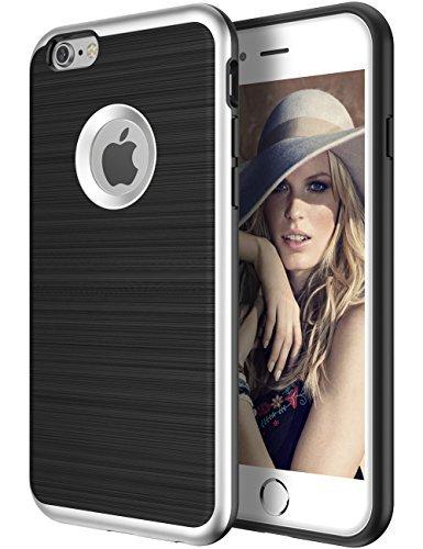 iPhone 6S Schutzhülle, iPhone 6Fall, zoudashuai Rugged Hybrid Flexible Slim Dünn Durable stoßabsorbierendes Case Ultra Schutz kratzfest stoßfest Bumper TPU Soft für iPhone 6/6S (11,9cm) Soft-side Case
