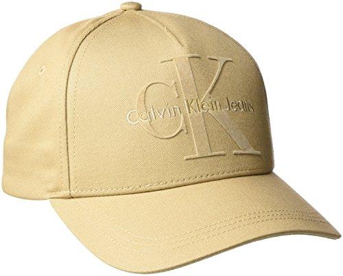 Calvin Klein Jeans Herren Re-Issue Baseball Cap, Braun (Tannin 229), One size (Herren Denim Jeans Tuch,)