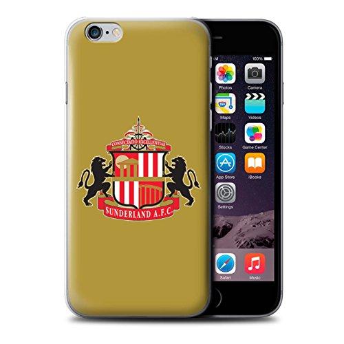 Offiziell Sunderland AFC Hülle / Case für Apple iPhone 6+/Plus 5.5 / Pack 6pcs Muster / SAFC Fußball Crest Kollektion Gold