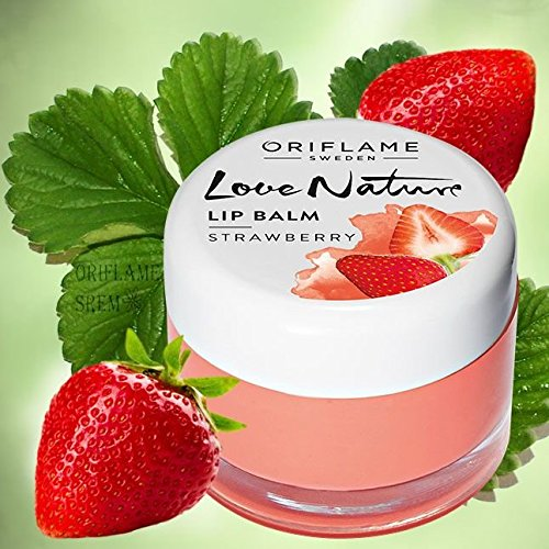Love Nature Lip Balm (Strawberry)  available at amazon for Rs.299