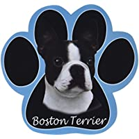 Boston Terrier Dog Paw Non-Slip Mousepad by E&S Pets