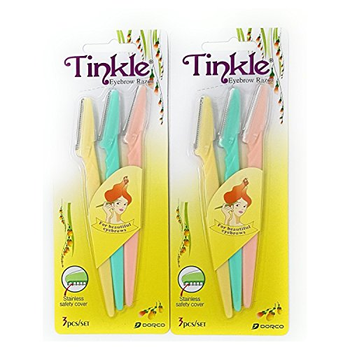 Tinkle Eyebrow Razor Pack of 6 by Tinkle (Hair Trimmer Tinkle)