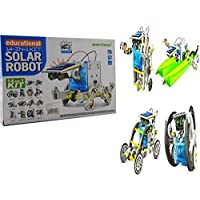 Allkindathings 14- 1 Solar Robot Kit