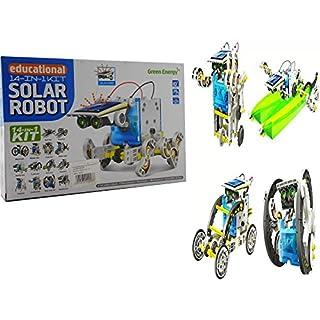 Allkindathings 14- 1 Solar Robot Kit