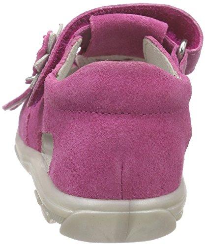 Richter Kinderschuhe Terrino, Chaussures Bébé marche bébé fille Pink (fuchsia/lollypop/sil  3501)