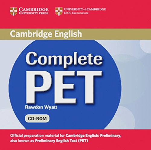 Preisvergleich Produktbild Complete PET: Student's Book Pack (Student's Book with answers, CD-ROM and CDs)