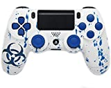 Toxic Blue Ps4 Rapid Fire Modded Controller 35 mods BO2, BO3, Advanced Warfare, Destiny, Ghosts, MW3 Rapid Fire QUICKSCOPE, JITTER, DROP SHOT, AUTO AIM ZOMBIE by Playstation