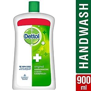 Dettol Original Liquid Soap Jar – 900 ml (Pack of 2) and Dettol Sensitive Liquid Soap Jar – 900 ml (Pack of 2)