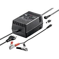 Goobay 54334 Chargeur de batterie domestique Noir chargeur de batterie - Chargeurs de batterie (1,8 A, 135 mm, 86 mm, 75 mm, 1,31 kg, Noir)