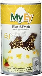 MyEy EyWeiß, Eiweiß-Ersatz, vegan, natürlich & voll aufschlagbar, mit pflanzlichen Proteinen, glutenfrei, 1er Pack (1 x 200g)
