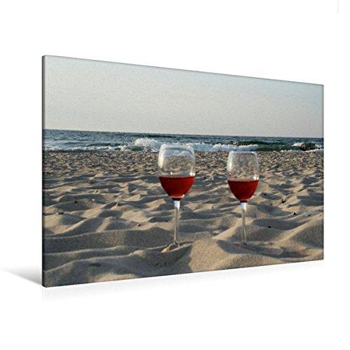 Calvendo Premium Textil-Leinwand 120 cm x 80 cm Quer, Maritimes Flair | Wandbild, Bild auf...
