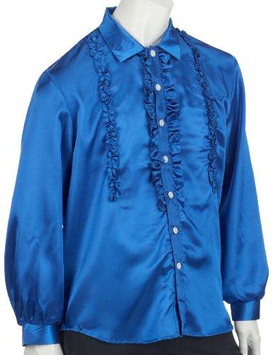 Rubies 1 4870/001 54 - Rüschenhemd royal Größe 54 Royal Ruby