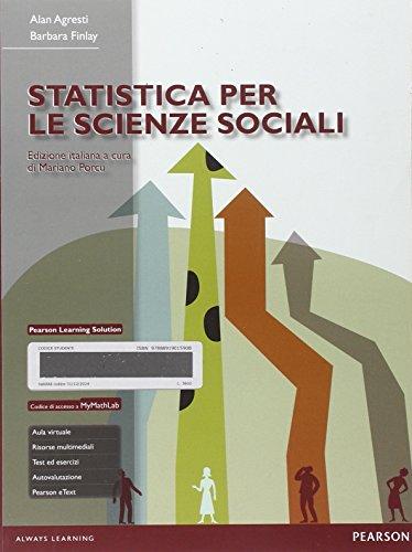 Statistica per le scienze sociali. Con Mymathlab. Con eText. Con aggiornamento online