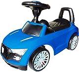Playland Rutschauto Kinderauto Hupe Sound-Funktion Flüsterreifen Farbwahl (blau)