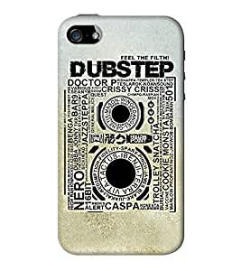 Go Yankee dubstep back case cover for iphone 5/5s