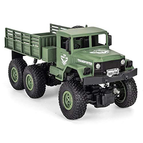 Ardentity RC Toys Ferngesteuerte Militärfahrzeuge, RC Militär Truck 2.4Ghz 1/18 mit Fernbedienung als Geschenke für Kinder Jungen Erwachsene