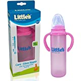 Little's Glass Sipper (Pink)